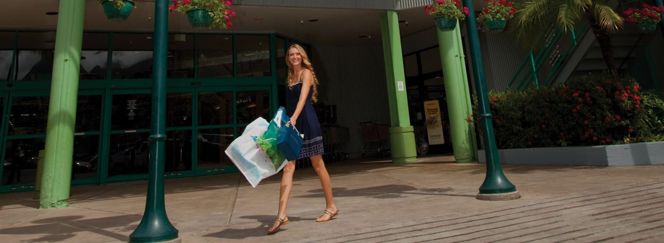 Lahaina shopping center